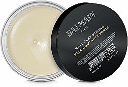 Parfémy, Parfumerie, kosmetika Matující hlína se silnou fixací - Balmain Matt Clay Strong