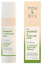 Parfémy, Parfumerie, kosmetika Balzám na rty Výživa a oživení - You & Oil Nourish & Vitalise Lip Balm
