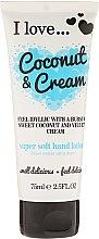 Parfémy, Parfumerie, kosmetika Super měkký lotion na ruce - I Love... Coconut & Cream Super Soft Hand Lotion