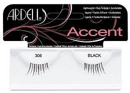 Umělé řasy - Ardell Lash Accents Black 308 — foto N1
