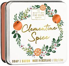 Parfémy, Parfumerie, kosmetika Vánoční mýdlo Klementinka - Scottish Fine Soaps Clementine Spice Soap