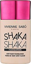 Parfémy, Parfumerie, kosmetika Make-up s přirozeným efektem rozostření - Vivienne Sabo Natural Cover Shaka Shaka Foundation (01)