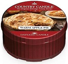 Parfémy, Parfumerie, kosmetika Čajová svíčka Teplý jablečný koláč - Country Candle Warm Apple Pie Daylight
