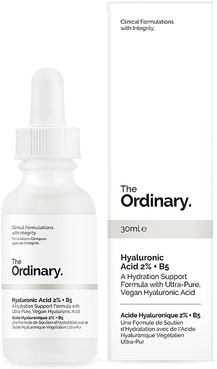 Sérum s kyselinou hyaluronovou 2% + B5 - The Ordinary Hyaluronic Acid 2% + B5