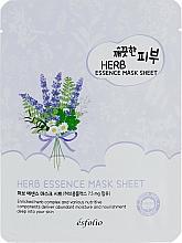 Parfémy, Parfumerie, kosmetika Látková maska s bylinným extraktem - Esfolio Pure Skin Essence Herb Mask Sheet