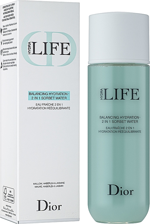 Hydratační sorbetový krém 2-v-1 - Dior Hydra Life Balancing Hydration 2-in-1 Sorbet Water — foto N1