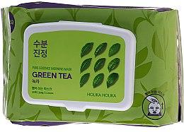 Parfémy, Parfumerie, kosmetika Express-maska na obličej se zeleným čajem - Holika Holika Pure Essence Morning Mask Green Tea