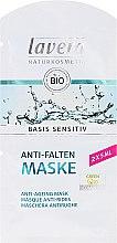 Parfémy, Parfumerie, kosmetika BIO obličejová maska s koenzymem Q10 - Lavera Basis Sensitiv Anti-Ageing Mask Q10 (mini)