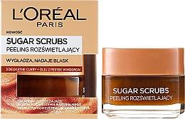 Parfémy, Parfumerie, kosmetika Cukrový peeling na obličej - L'Oreal Paris Sugar Scrubs