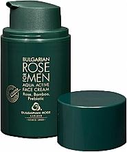 Parfémy, Parfumerie, kosmetika Hydratační krém pro muže - Bulgarian Rose For Men Aqua Active Face Cream