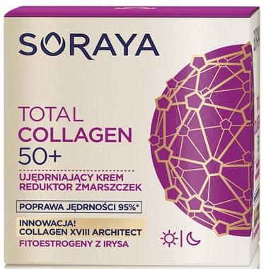 Regenerační krém proti vráskám děnní a noční 50+ - Soraya Total Collagen 50+