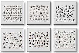 Parfémy, Parfumerie, kosmetika Nálepky na nehty, komplet 42935 - Top Choice Nail Decorations Stickers Set