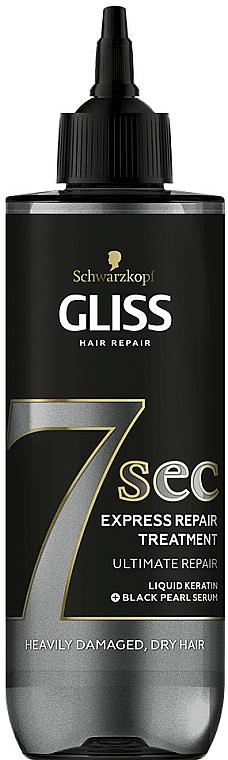 Vlasová maska - Schwarzkopf Gliss Kur 7 Sec Express Repair Treatment Ultimate Repair