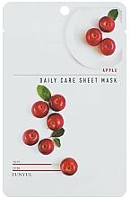 Parfémy, Parfumerie, kosmetika Vyživující pleťová maska s jablečným extraktem - Eunyu Daily Care Sheet Mask Shea Apple
