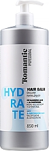 Parfémy, Parfumerie, kosmetika Balzám na suché vlasy - Romantic Professional Hydrate Hair Balm