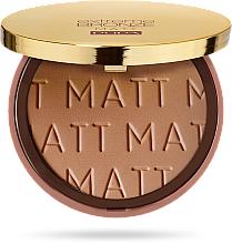 Parfémy, Parfumerie, kosmetika Bronzový pudr - Pupa Extreme Bronze Matt