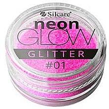 Parfémy, Parfumerie, kosmetika Třpytky na nehty - Silcare Brokat Neon Glow