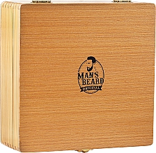 Parfémy, Parfumerie, kosmetika Sada na holení - Man's Beard Razor Wood Brown Box