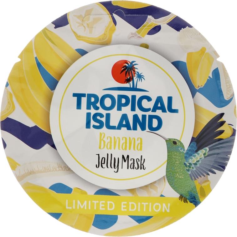 "Maska na obličej ""Banán"" - Marion Tropical Island Banana Jelly Mask"