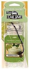 Parfémy, Parfumerie, kosmetika Vůně do auta - Yankee Candle Car Jar Vanilla Lime