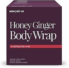 Parfémy, Parfumerie, kosmetika Anticelulitidní medově-zázvorový tělový zábal - Natura Siberica Fresh Spa Kam-Chat-Ka Honey Ginger Body Wrap