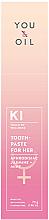 Parfémy, Parfumerie, kosmetika Zubní pasta pro ženy - You & Oil Aphrodisiac Toothpastes Jasmine Mint
