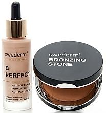 Parfémy, Parfumerie, kosmetika Sada - Swederm (bronzer/13g + found/30ml)