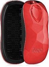 Parfémy, Parfumerie, kosmetika Kartáček na vlasy - Ikoo Home Black Dragon Lady Red