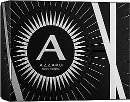 Parfémy, Parfumerie, kosmetika Azzaro Pour Homme - Sada (edt/100ml + b/shm/100ml + after shave/50ml)