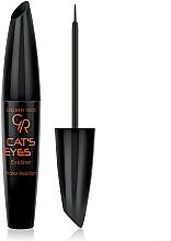 Parfémy, Parfumerie, kosmetika Oční linka - Golden Rose Cat's Eyes Eyeliner