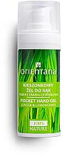 Parfémy, Parfumerie, kosmetika Antibakteriální gel na ruce se zázvorem a citronovou trávou - Orientana Pocket Hand Gel