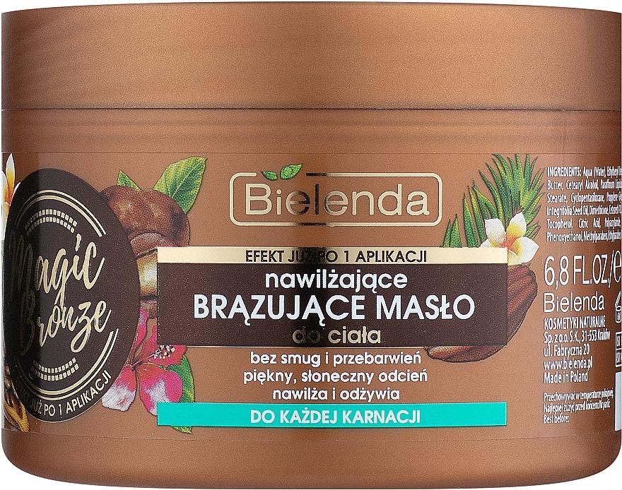Bronzující tělový olej - Bielenda Magic Bronze Moisturizing Bronzing Body Butter