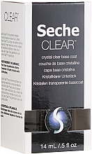 Parfémy, Parfumerie, kosmetika Transparentní podkladová báze - Seche Vite Clear Crystal Base Coat