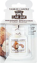 Parfémy, Parfumerie, kosmetika Vůně do auta - Yankee Candle Car Jar Ultimate Soft Blanket