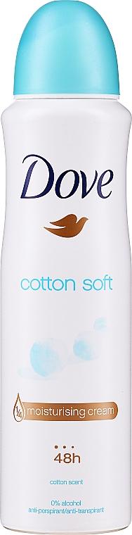 Deodorant - Dove Cotton Soft Deodorant