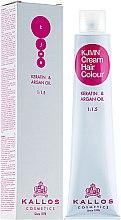 Parfémy, Parfumerie, kosmetika Profesionální krémová barva na vlasy - Kallos Cosmetics Cream Hair Colour