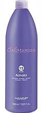 Parfémy, Parfumerie, kosmetika Aktivátor barvy - Alfaparf Color Wear Activator 15 vol. 4,5%
