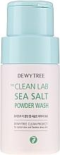 Parfémy, Parfumerie, kosmetika Mycí pudr s mořskou solí - Dewytree The Clean Lab Sea Salt Powder Wash