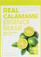 Parfémy, Parfumerie, kosmetika Vitamínová pleťová maska s extraktem z calamansi - Farmstay Real Calamansi Essence Mask