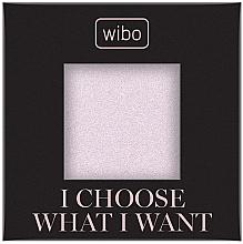 Parfémy, Parfumerie, kosmetika Pudr-rozjasňovač na obličej - Wibo I Choose What I Want Shimmer (náhradní náplň)