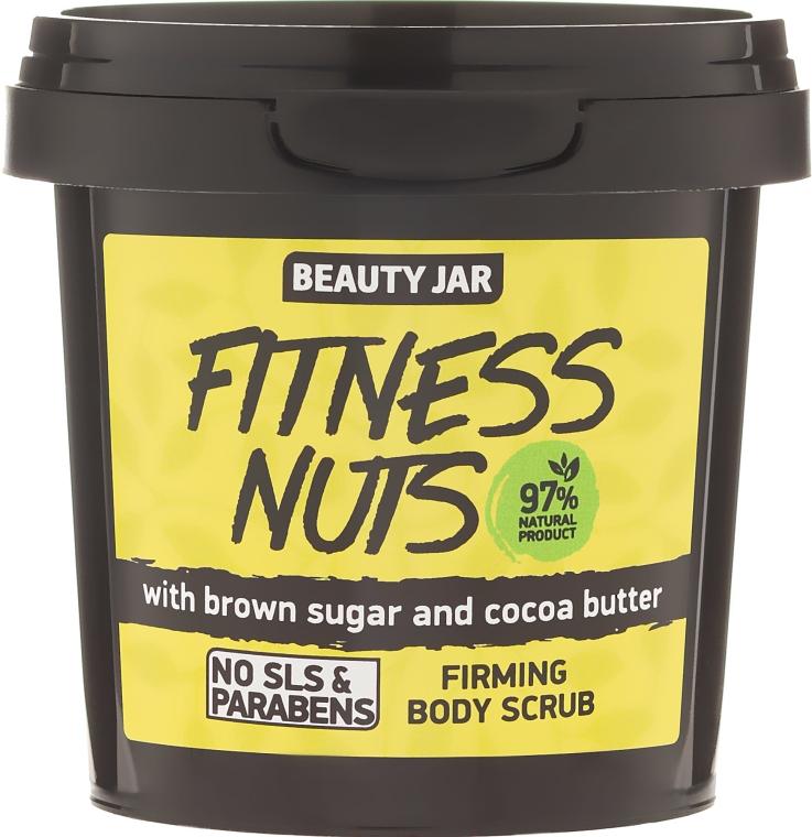 """Tělový peeling zpevňující """"Fitness Nuts"""" - Beauty Jar Firming Body Scrub"""