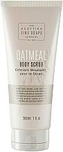 Parfémy, Parfumerie, kosmetika Tělový peeling - Scottish Fine Soaps Oatmeal Body Scrub