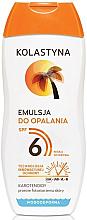 Parfémy, Parfumerie, kosmetika Opalovací emulze - Kolastyna Suncare Emulsion SPF6