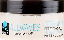 Parfémy, Parfumerie, kosmetika Vosk na vlasy s matným efektem - Allwaves Matt Hair Wax
