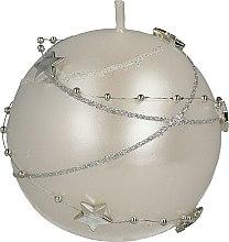 Parfémy, Parfumerie, kosmetika Dekorativní svíčka bílá 8 cm - Artman Christmas Garland