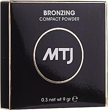 Parfémy, Parfumerie, kosmetika Bronzující pudr na obličej - MTJ Cosmetics Bronzing Compact Powder