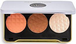 Parfémy, Parfumerie, kosmetika Konturovací paletka - Makeup Revolution Patricia Bright Face Palette