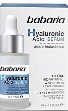 Parfémy, Parfumerie, kosmetika Sérum na obličej - Babaria Hyaluronic Acid Serum
