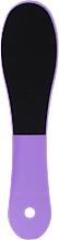 Parfémy, Parfumerie, kosmetika Oboustranný pilník na nohy, fialový - Inter-Vion