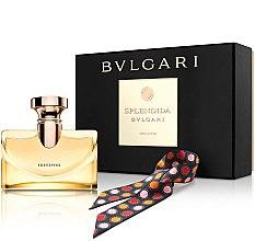 Parfémy, Parfumerie, kosmetika Bvlgari Splendida Iris D`Or - Sada ( edp/100ml + scarves)